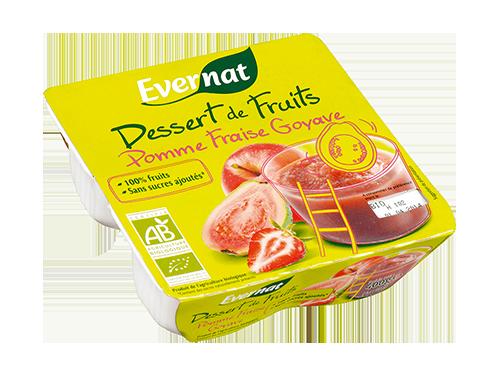Dessert Fruits Pomme Fraise Goyave