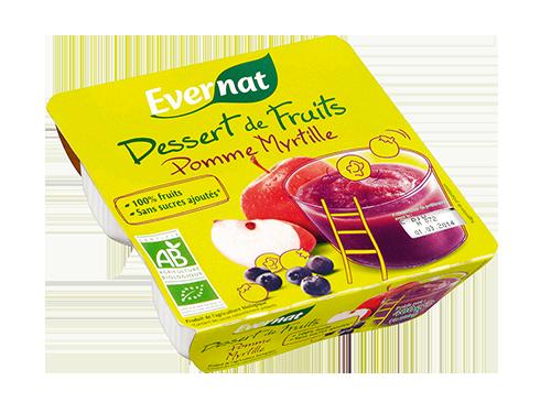 Dessert Fruits Pomme Myrtille