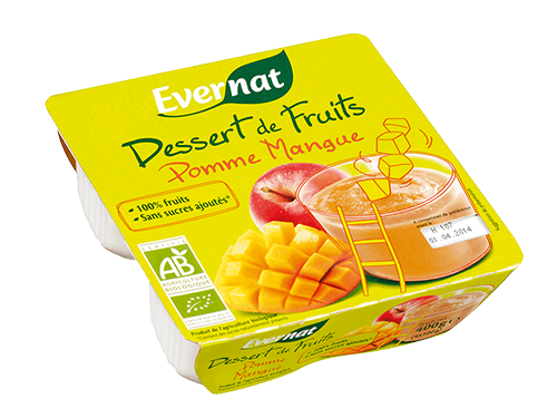 Dessert Fruits Pomme Mangue