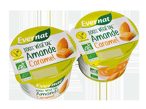 Dessert Végétal Amande Caramel