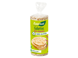 Galettes Maïs Amarante Sans Gluten