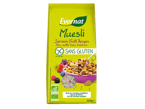Muesli Sans Gluten Sarrasin Fruits Rouges
