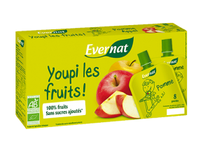Youpi les fruits ! Pomme