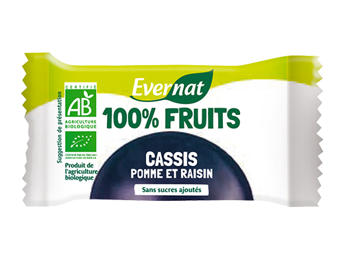 Barre 100% Fruits Cassis