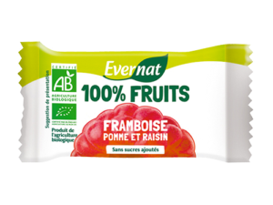 Barre 100% Fruits Framboise