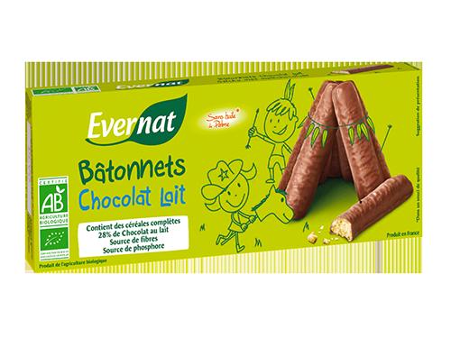 Bâtonnets Chocolat Lait