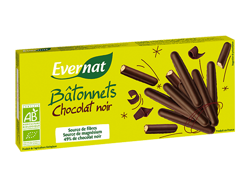 Bâtonnets Chocolat Noir !