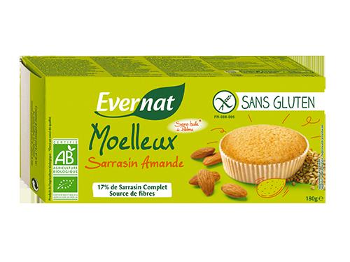 Moelleux Sans Gluten Sarrasin Amande