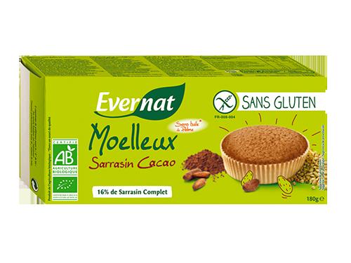 Moelleux Sans Gluten Sarrasin Cacao