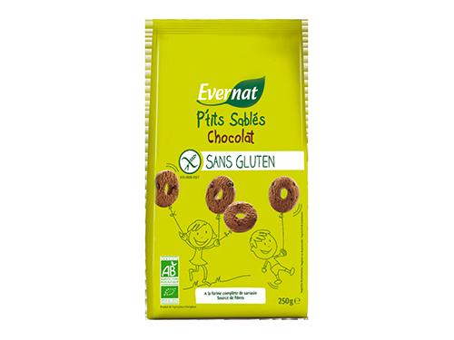P'tits Sablés Chocolat Sans Gluten