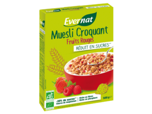 Muesli Croquant Fruits Rouges