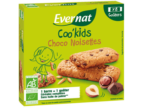 Coo'kids choco noisettes