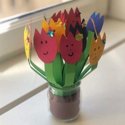 Offrir un bouquet pour la Fête des Mères