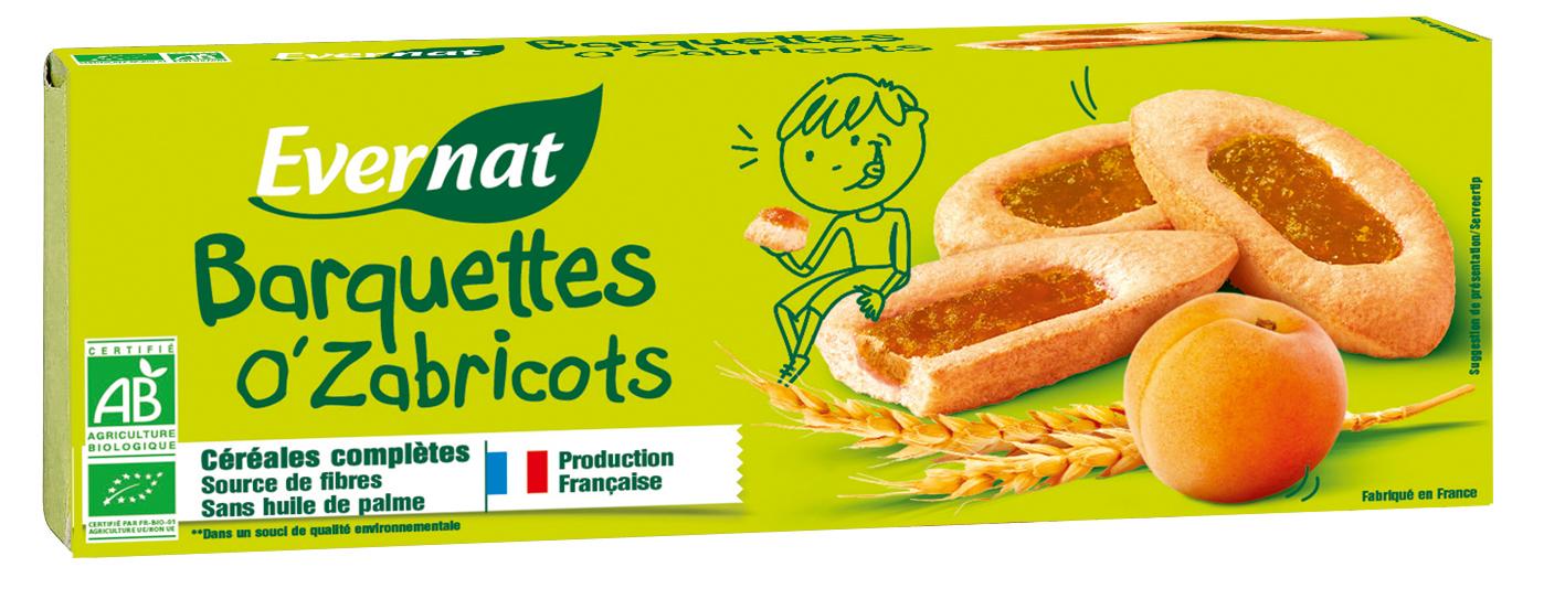 Barquette aux abricots