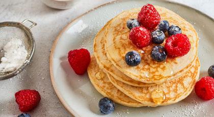 Pancakes légers et aérés