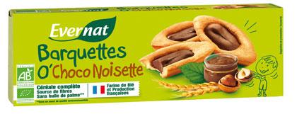 Barquette o'choco noisette