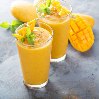 Smoothie mangue avoine
